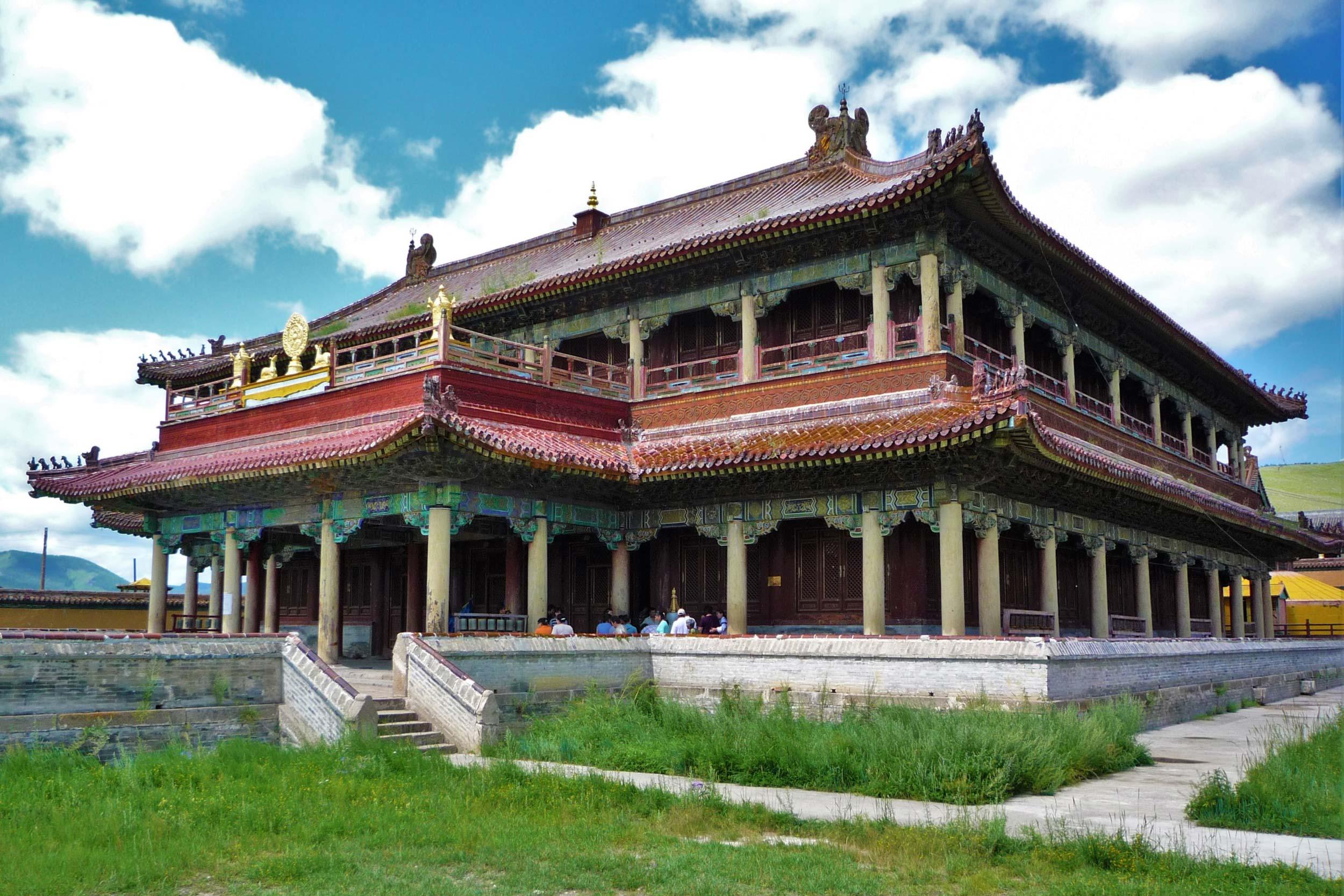 Amarbayasgalant Monastery in Erdenet