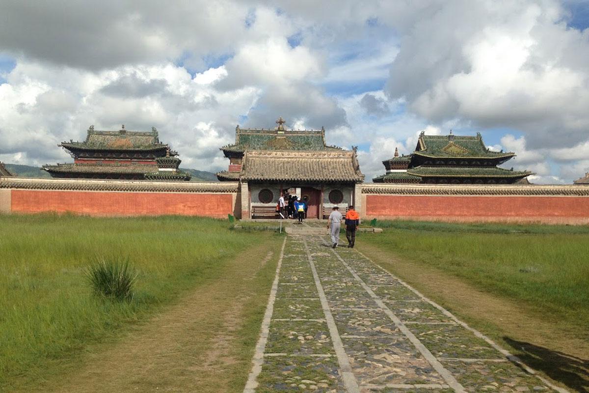 Buddhist site in Mongolia