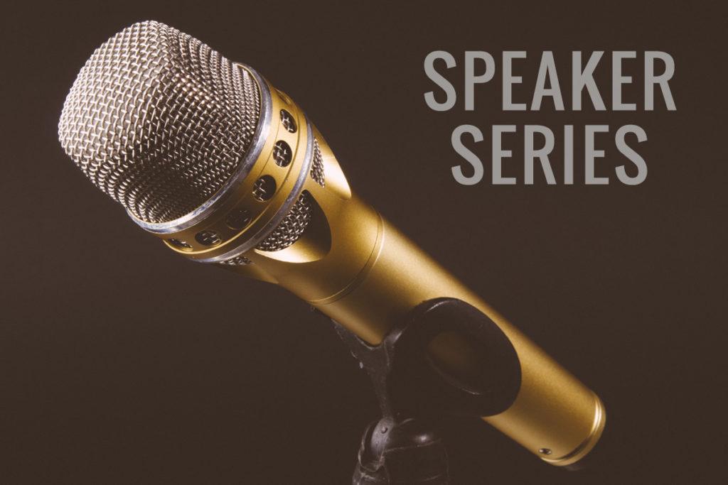 speaker series ad