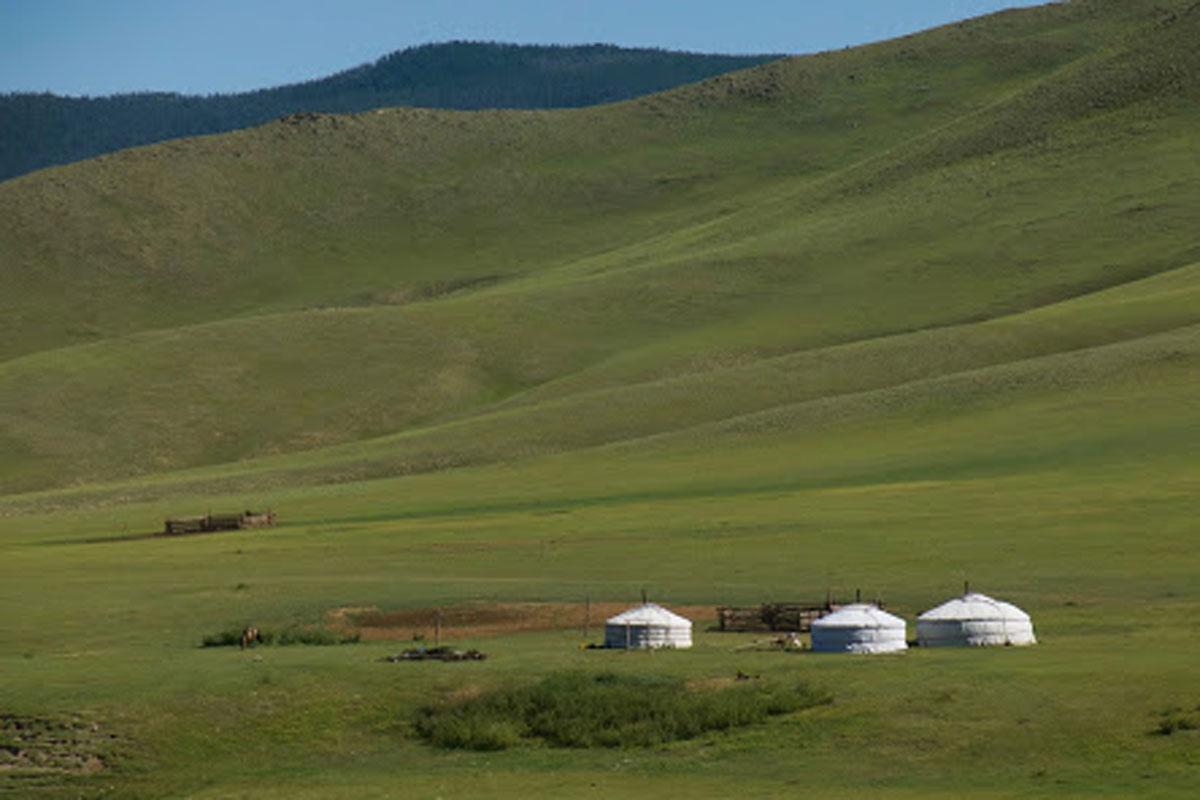 Photo of Mongolian countryside