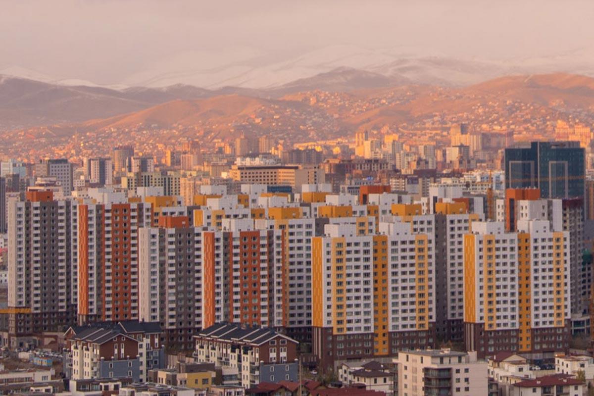 Photo of Ulaanbaatar buildings